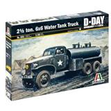 2 1/ 2 TON 6x6 WATER TANK TRUCK D-DAY NORMANDY 1944
