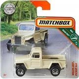 AUTÍČKO MATCHBOX JEEP WILLYS PICK-UP 4x4