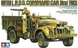 BRITISH LRDG COMMAND CAR 30 CWT TRUCK