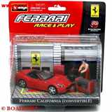 FERRARI CALIFORNIA CONVERTIBLE RACE & PLAY