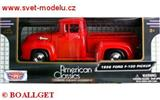 FORD PICKUP 1956 RED