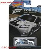 HOTWHEELS AUTÍČKO FORZA MOTORSPORT FORD FOCUS RS 2009