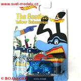 HOTWHEELS AUTÍČKO THE BEATLES YELLOW SUBMARINE ŽLUTÁ PONORKA KOOL KOMBI