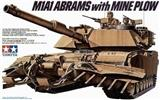 M1A1 ABRAMS WITH MINE PLOW
