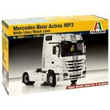 MERCEDES-BENZ ACTROS MP3 WHITE LINER /  BLACK LINER