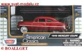 MERCURY COUPE 1949 RED
