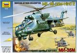 MIL MI-35M HIND E RUSSIAN ATTACK HELICOPTER