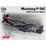MUSTANG P-51C AMERICAN FIGHTER WWII