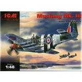 MUSTANG P-51C RAF FIGHTER WWII