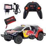 RC AUTO CARRERA PEUGEOT RED BULL DAKAR 2, 4 GHz