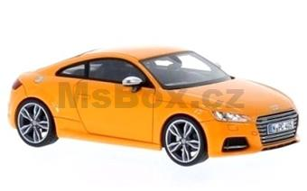 AUDI TTS COUPE 2014 ORANGE