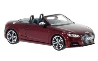 AUDI TTS ROADSTER 2014 RED