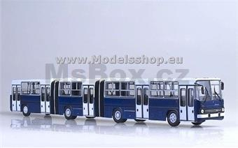AUTOBUS IKARUS 239 DOUBLE ARTICULATED BLUE