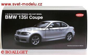 BMW 135i COUPE SILVER