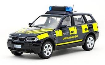 BMW X3 BORDER GUARDS-FRENCH VERSION