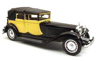 BUGATTI 41 ROYALE 1927 YELLOW/BLACK