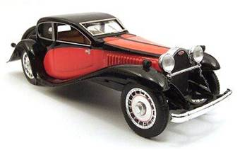 BUGATTI T50 1933 RED/BLACK