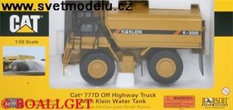 Caterpillar 777D Off Highway Truck with Klein Wate
