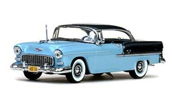 CHEVROLET BEL AIR HARD TOP 1955 BLUE