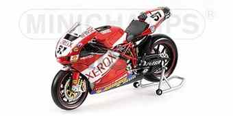 DUCATI 999 F07 LORENZO LANZI TEAM DUCATI XEROX WORLD SUPERBIKE 2007