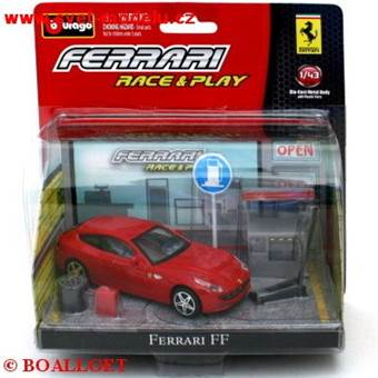 FERRARI FF RED RACE & PLAY