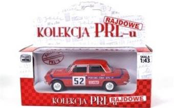FIAT 125P RALLY RED