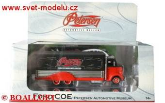 FORD COE PETERSEN  AUTOMOTIVE MUSEUM RED/BLACK