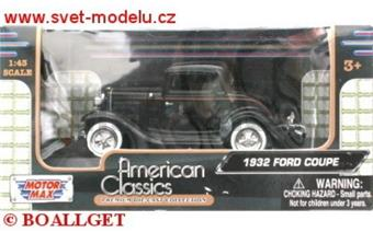 FORD COUPE 1932 BLACK