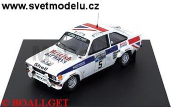 Ford Escort MKII Winner RAC Rally 1977 Waldegaard