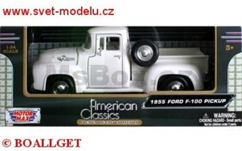 FORD F-100 PICK UP 1955 WHITE