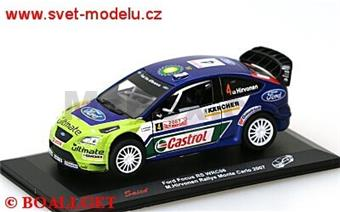 FORD FOCUS RS WRC06  NO.4 M.HIRVONEN RALLY MONTE CARLO 2007