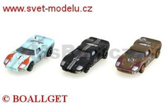 FORD GT 40 SET LE MANS 1966 LIMITED EDITION 1966 PCS.