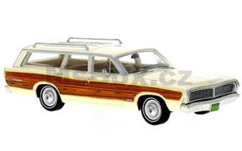 FORD LTD COUNTRY SQUIRE 1968 BEIGE/WOOD