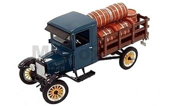 FORD MODEL TT STAKE BED WITH BARRELS 1923
