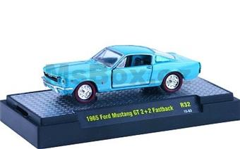 FORD MUSTANG GT 2+2 FASTBACK 1965