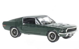 FORD MUSTANG GT 2+2 FASTBACK 1968 GREEN