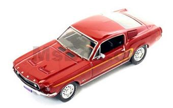 FORD MUSTANG GT-390 FASTBACK 1968 BORDEAUX
