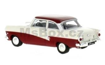 FORD TAUNUS 17M P2 1957 WHITE / RED