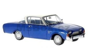 FORD TAUNUS 17M P3 COUPE 1962 BLUE