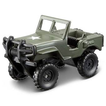 FRESH METAL FORCES 3 MILITARY VEHICLE ALPHA OPEN GREEN