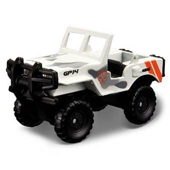 FRESH METAL FORCES 3 MILITARY VEHICLE ALPHA OPEN WHITE