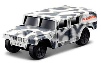 FRESH METAL FORCES 3 MILITARY VEHICLE HUMVEE WHITE