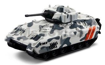 FRESH METAL FORCES 3 MILITARY VEHICLE TANK DELTA WHITE
