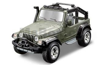 FRESH METAL FORCES 4,5 MILITARY VEHICLE JEEP WRANGLER RUBIKON GREEN