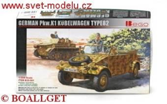 German Pkw. K1 Kübelwagen Type 82