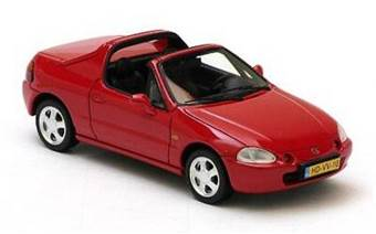 HONDA CRX 1992-1998 RED