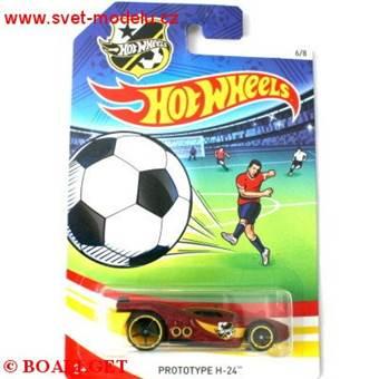 HOTWHEELS AUTÍČKO UEFA PROTOTYPE H-24