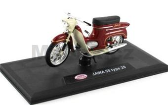 JAWA 50 TYPE 20 DARK CHERRY RED
