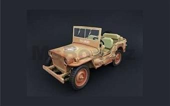 JEEP WILLYS US ARMY DIRTY VERSION 1943 LIMITED EDITION 240 PCS.