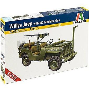 JEEP WILLYS WITH M2 GUN MACHINE
